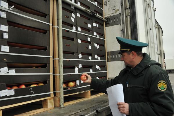 НаСмоленщине таможня задержала 16 фургонов с«санкционкой»
