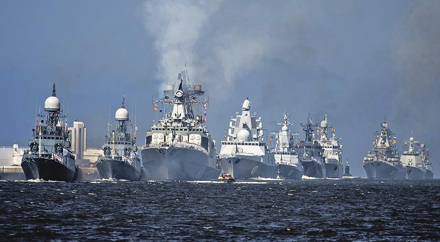 Фейерверк вПетербурге вчесть дня ВМФ прогремит вдругое время