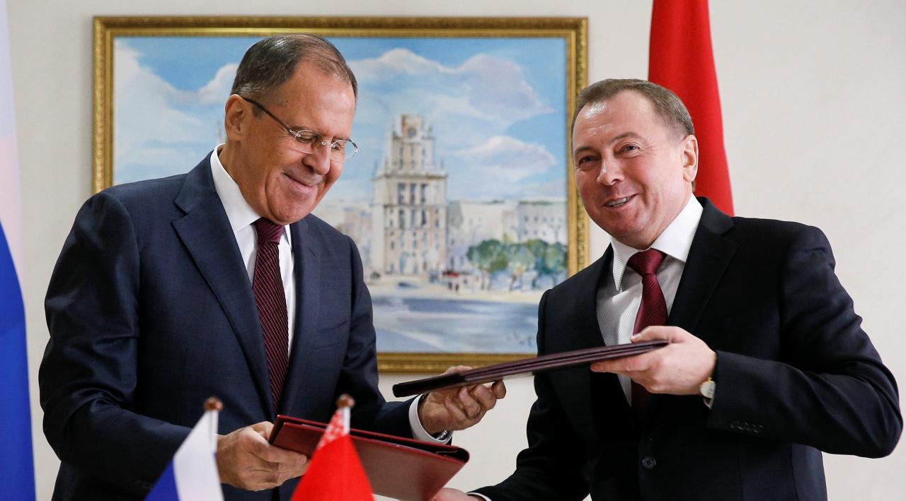 ВМинске проходит совещание  Совета министров иностранных дел ОДКБ