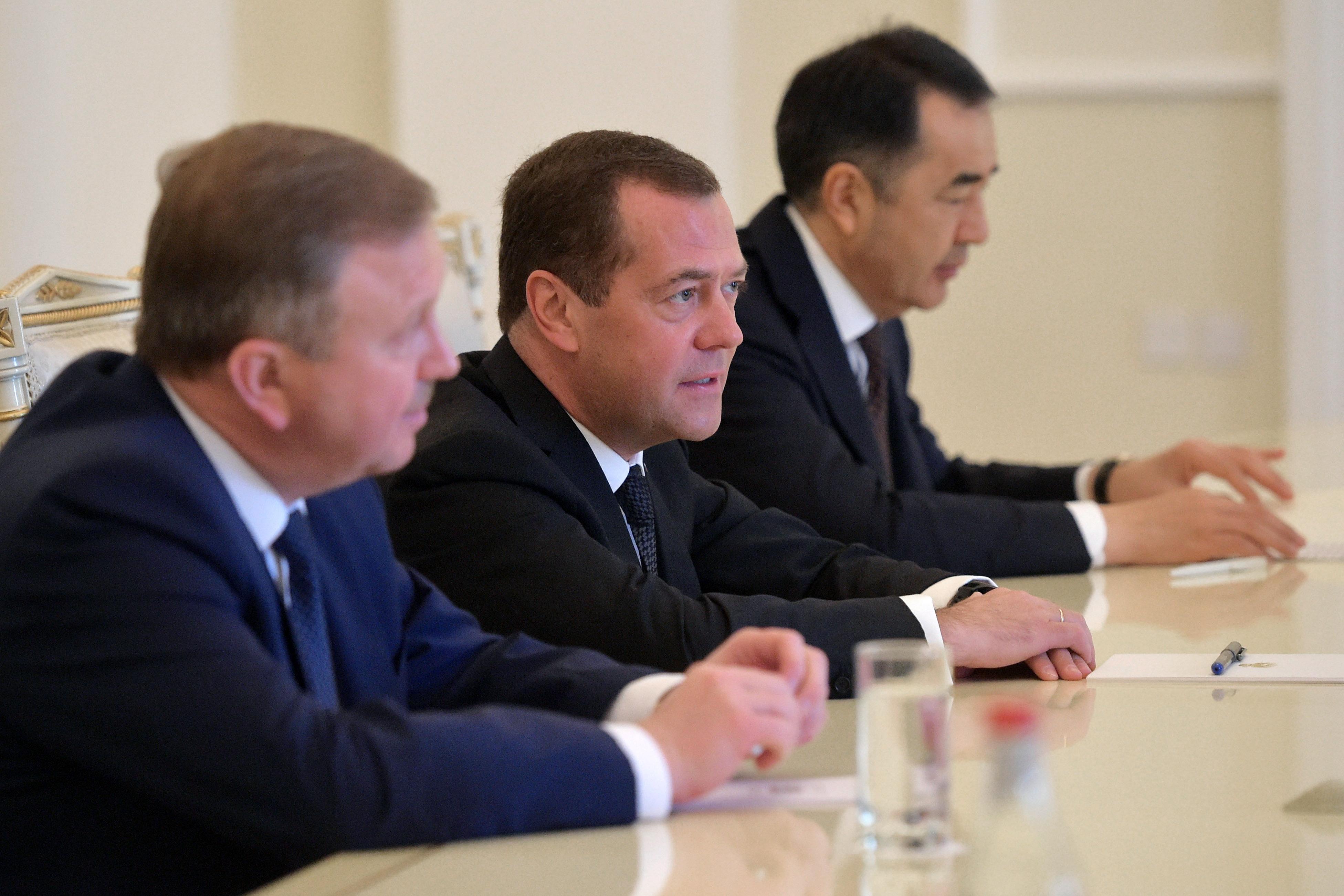Медведев вЕреване примет участие в совещании Евразийского межправсовета