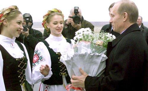 Путин поздравил Лукашенко сДнем единения России иБелоруссии