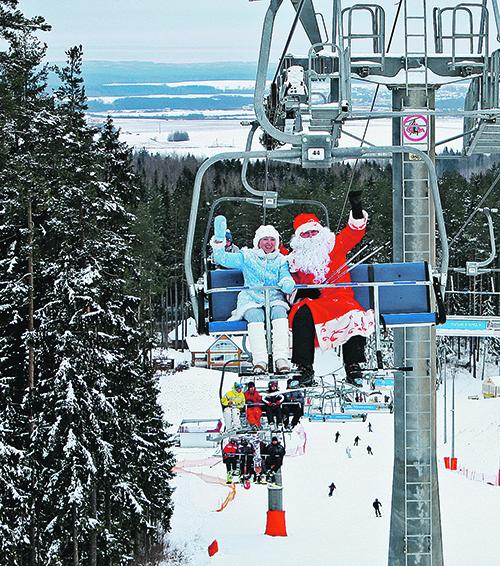 Новый год на лыжах в белоруссии